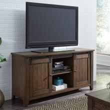 "60"" TV Console in Rustic Brown Finish      (210-TV60,53014)"