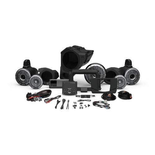 Rockford Fosgate - PMX-3, 1500 Watt, Front Color Optix™ Speaker, Subwoofer & Rear Horn Speaker Kit for Select Polaris® RZR® Models (Gen-3)