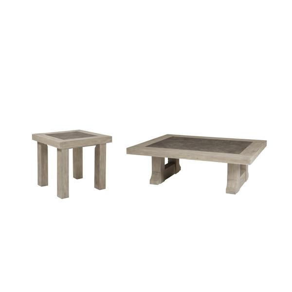 See Details - Coffee Table With 1 End Table