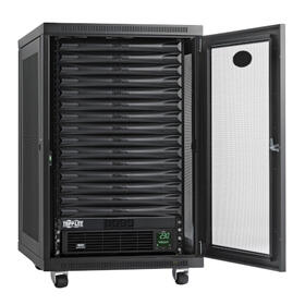 EdgeReady Micro Data Center - 15U, 1.5 kVA UPS, Network Management and PDU, 230V Kit