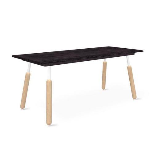 Product Image - Envoy Desk 70 Inch / Black Ash/black / Dowel White