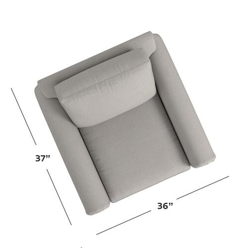 Bassett Furniture - Carolina Panel Arm Chair