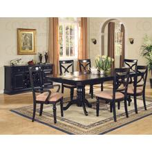 """See Details - SIDE CHAIR,BLACK/F 19-1/2""""Wx24""""Dx40-1/2""""H"""