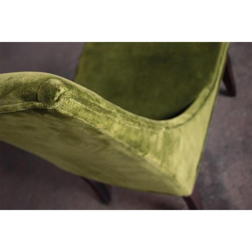 Mix-n-match Chairs - Ivy Velvet Side Chair - Hazelnut Finish