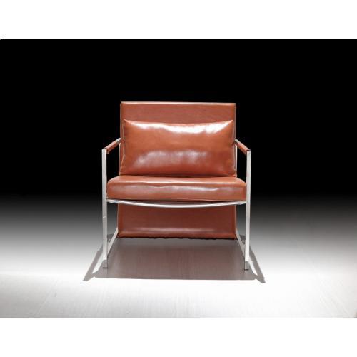 Divani Casa Ultra Modern Leatherette Accent Chair