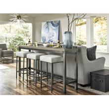 See Details - Mitchell Console Table with 3 Stools