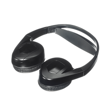 Dual Channel Wireless Fold Flat Headphones