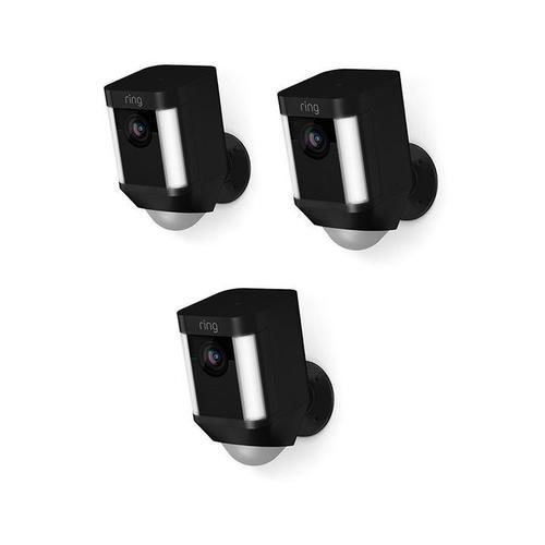 Ring - 3-Pack Spotlight Cam Battery - Black