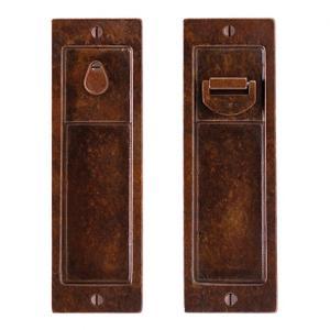 Pocket Door Lock - FP308 Silicon Bronze Brushed Product Image