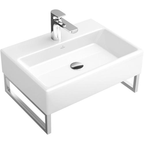 "Washbasin 24"" Angular *NO HOLES*  - Glossy Black Ceramicplus *1 x  AVAILABLE NEW IN BOX*"