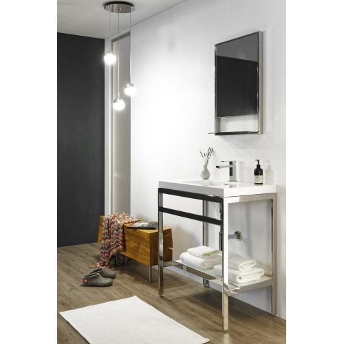 Floor-mount vanity Console Metro