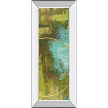 """Aller Chartreuse"" By Patrick St. Germain Mirror Framed Print Wall Art"