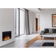Cambridge 23-In. Freestanding 5116 BTU Electric Fireplace Insert with Remote Control, CAM23INS-1BLK