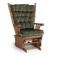 GISELLE Glider Rocker with Matching Ottoman