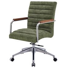 Tobin KD Fabric Office Chair, Smash Green