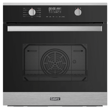 "Galanz 24"" Wall Oven in Black with Stainless Steel"