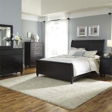 View Product - Queen Sleigh Bed, Dresser & Mirror, Chest, N/S