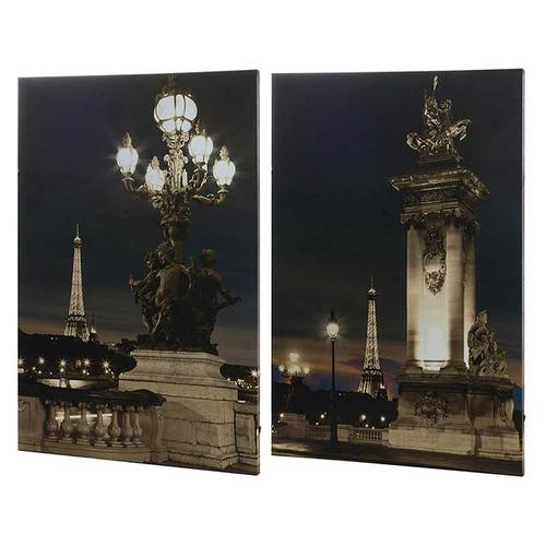 Gallery - S/2 Eiffell Led Wall Prints