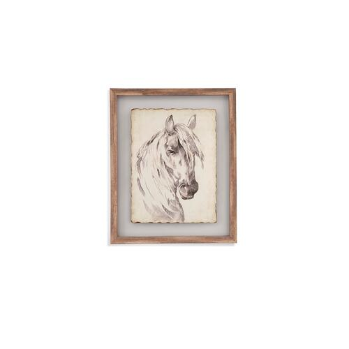 Bassett Mirror Company - Horse Portrait Sketch I