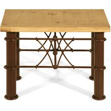 Lamp Table Iron Base