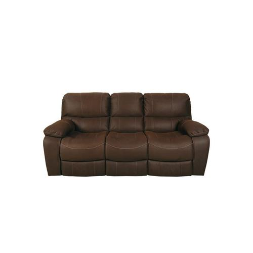 Ramsey Rodeo Brown Leather-Look Reclining Set, M6016N