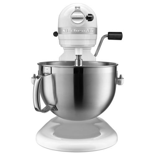 KitchenAid Canada - 6 Quart Bowl-Lift Stand Mixer - White