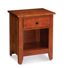 See Details - Shenandoah Nightstand with Opening on Bottom