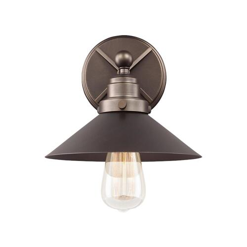 Hooper 1 - Light Sconce Antique Bronze