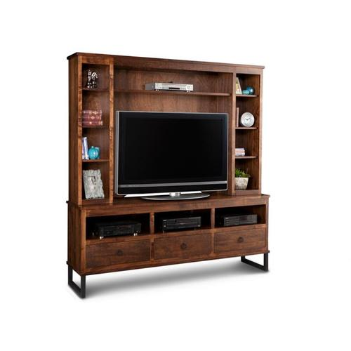 Handstone - Cumberland HDTV Cabinet with Hutch 48'' TV Opening