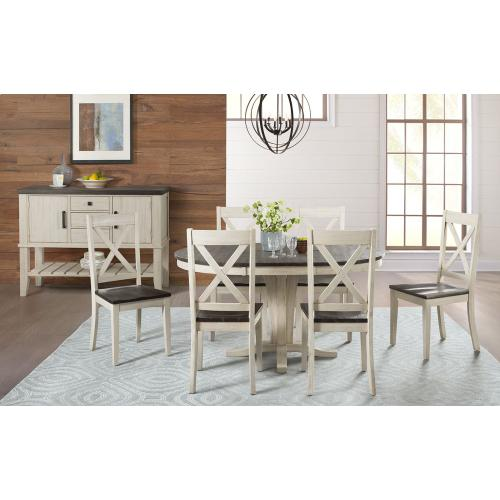 A America - PEDESTAL DINING TABLE