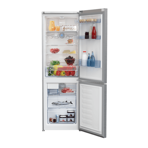 "24"" Freezer Bottom Stainless Steel Refrigerator with Auto Ice Maker"