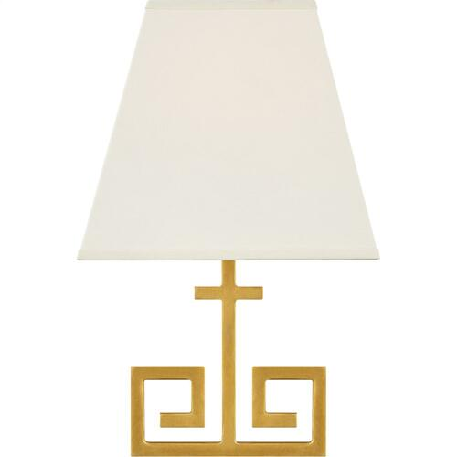 Visual Comfort AH2224NB-PL Alexa Hampton Kate 1 Light 7 inch Natural Brass Wall Sconce Wall Light
