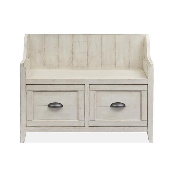 Storage Bench - Alabaster