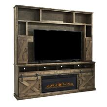 "Farmhouse 92"" Fireplace Center"