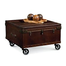 Elizabeth Square Steamer Trunk