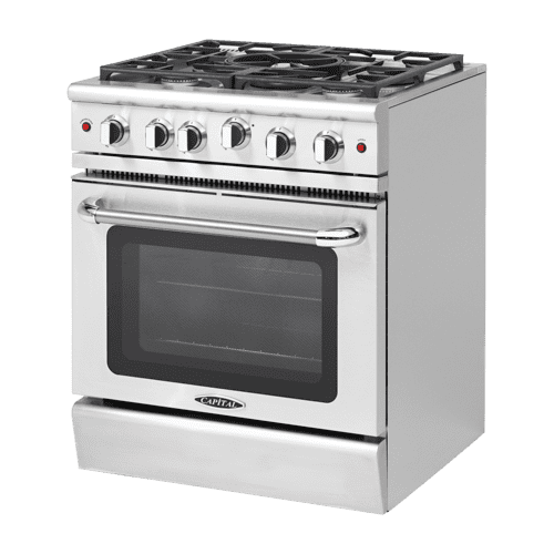 """Product Image - Precision 30"""" Gas Manual Clean Range"""