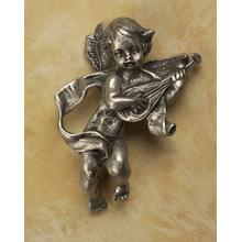See Details - Cherub with Mandolin Knob