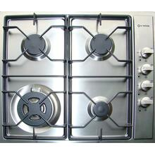 """View Product - Stainless Steel 24"""" Gas Cooktop - Side Control"""