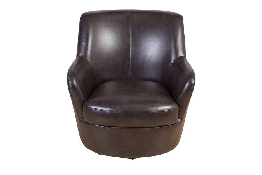 Hayes Brown Swivel Chair, AC973