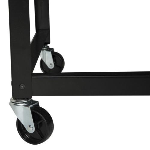 Bentley Industrial Mobile Black Desk - Black