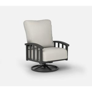 Swivel Rocker Chat Chair - Cushion
