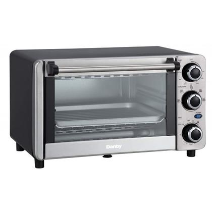 See Details - Danby 0.4 cu ft/12L 4 Slice Countertop Toaster Oven