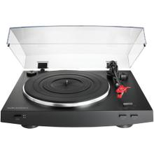 Fully Automatic Belt-Drive Stereo Turntable (Black)