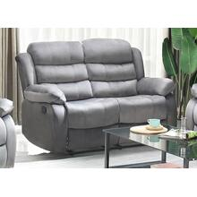 Simone Recliner Love Seat Grey