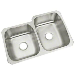 "McAllister® Undercounter Double-basin Kitchen Sink, 31-3/4"" x 18"" / 20-3/4"" Product Image"