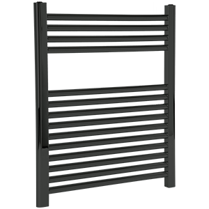 """Denby Towel Warmer 27"""" x 24"""" Hardwired Black Product Image"""