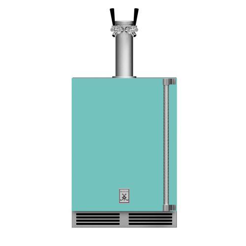 """24"""" Hestan Outdoor Double Faucet Beer Dispenser - GFDS Series - Bora-bora"""