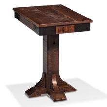 """View Product - Montauk End Table, 16 """"w x 24""""d x 25 """"h"""