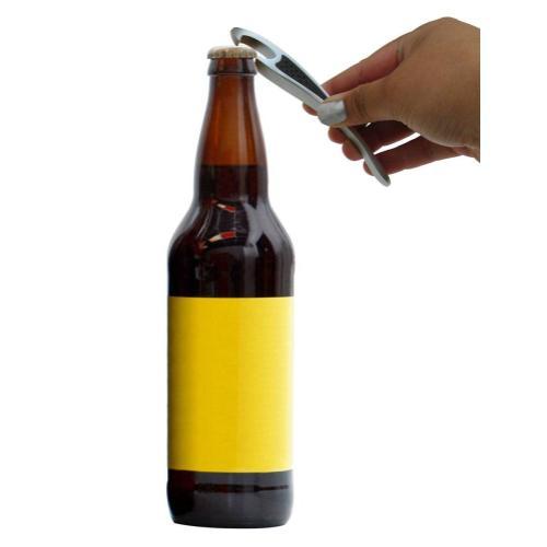 Epicureanist Metallic Bottle Opener with Grip