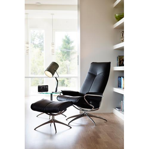 Stressless By Ekornes - Stressless City chair high back std base